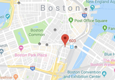 map of 14 beacons street boston, ma