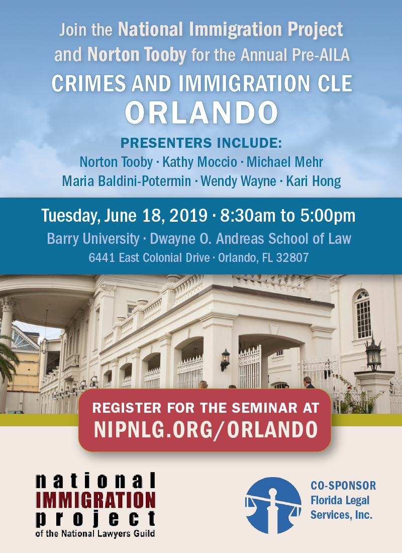 Save the Date Seminar June in Orlando