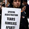 special registration separates families